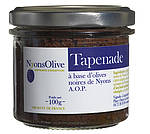 Schwarze Oliven-Tapenade aus Nyons, 100 g